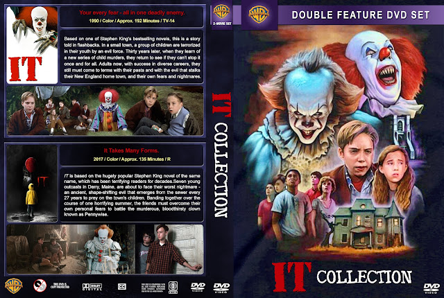 It Collection (2017) DVD Cover