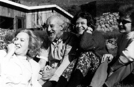 Fritz Perls la prima sa vizita la Institutul Esalen in 1964