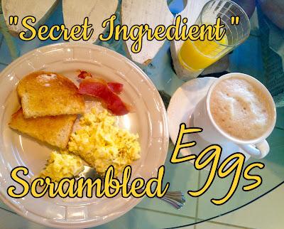 Secret Ingredient Scrambled Eggs