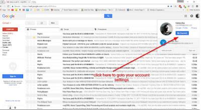 Delete Google Account Permanently