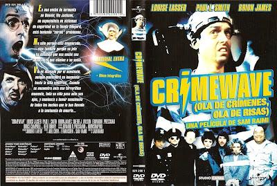 Cover, dvd, caratula: Ola de crímenes, ola de risas | 1985 | Crimewave