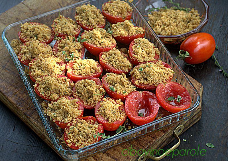 Pomodori gratinati al gorgonzola - procedimento