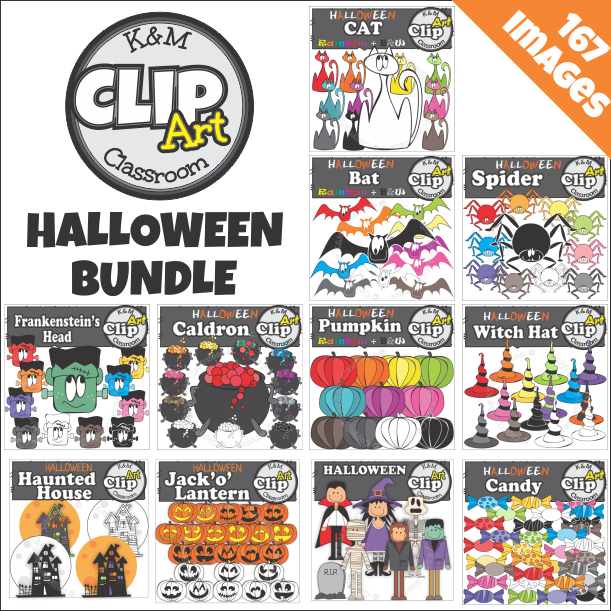 Halloween Clip Art Bundle