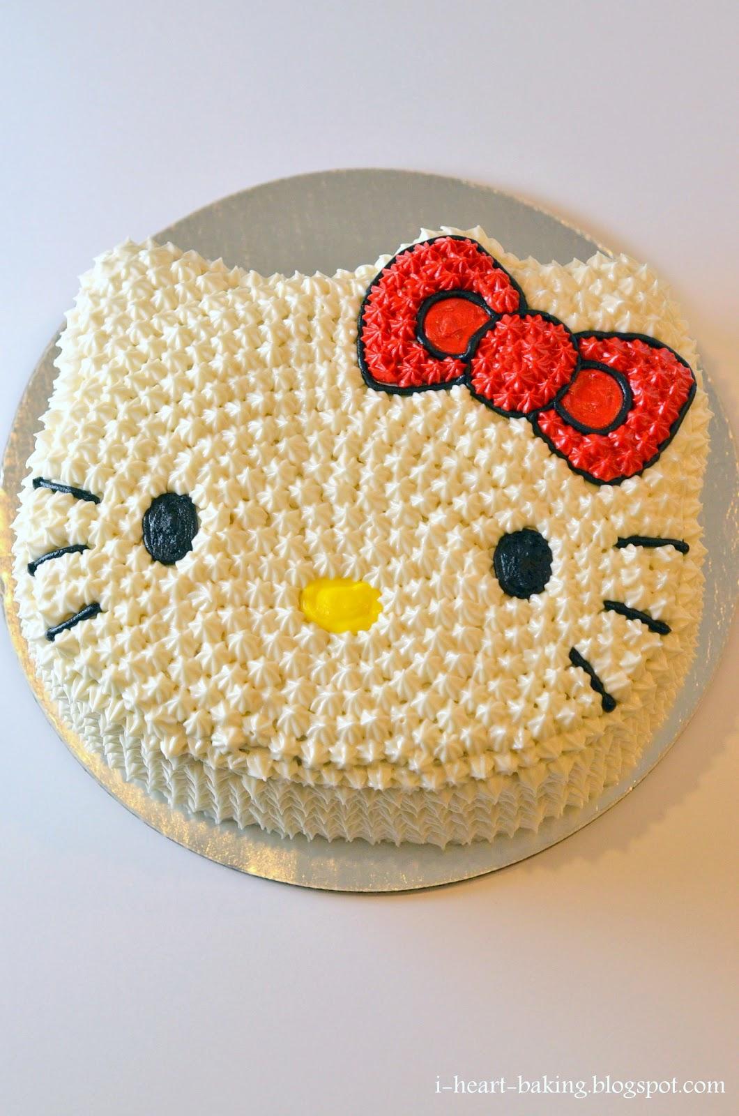Make Hello Kitty Shaped Cake