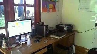 Ruang Kerja Ngeblog Profesional Penunjang Kesuksesan