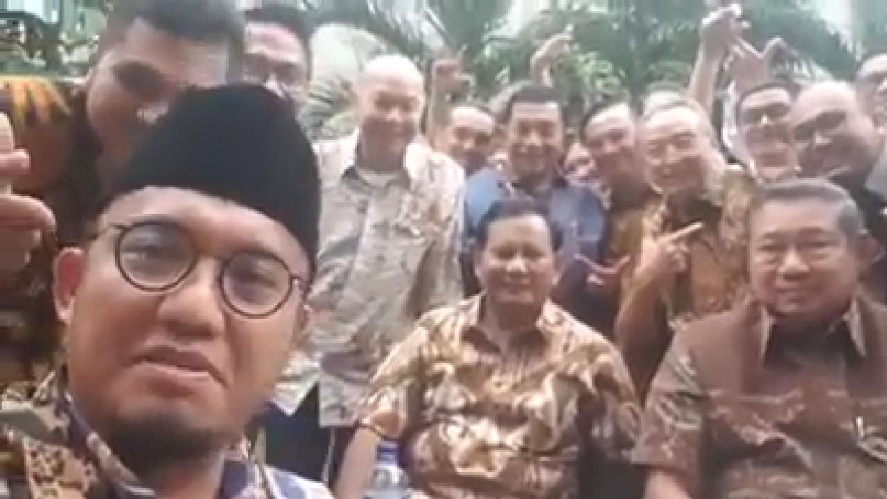 Bikin Kubu Sebelah Panik, Ini Pesan SBY dan Prabowo Saat Kopdar