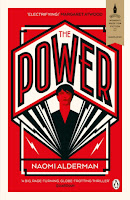 UK book cover of The Power by Naomi Alderman