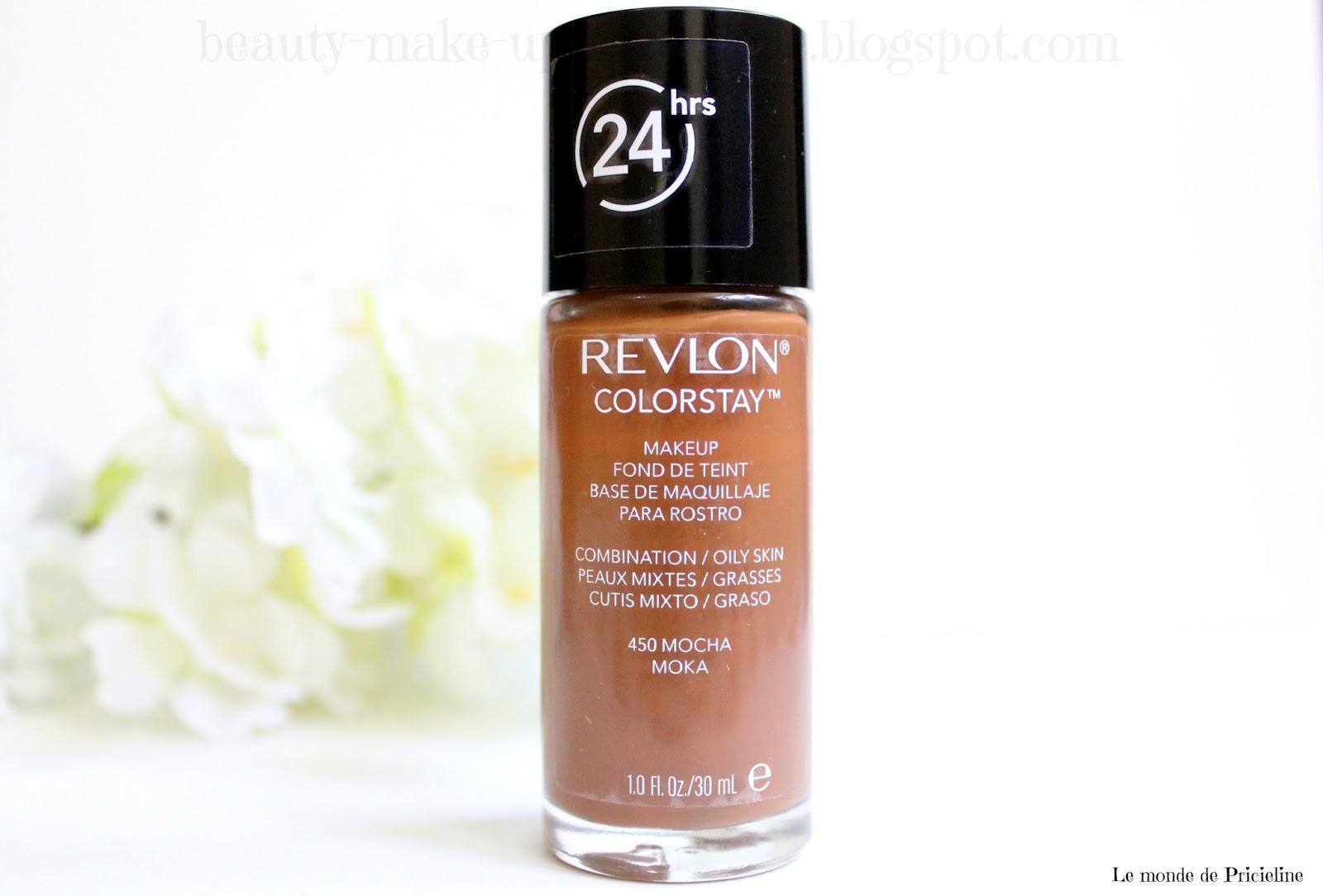 Revue du fond de teint Colorstay 24 heures de Revlon