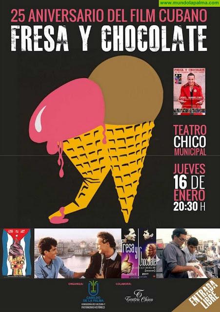 El Cabildo programa una función teatral basada en la película cubana 'Fresa y chocolate' con motivo de su 25 aniversario