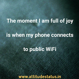 attitude status for boys about wifi