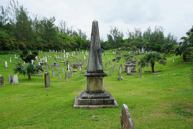 El Cementerio Naval Real | Bermuda