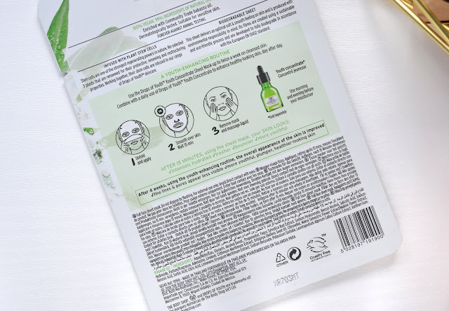 The Body Shop Drops of Youth Youth Concentrate Sheet Mask Review