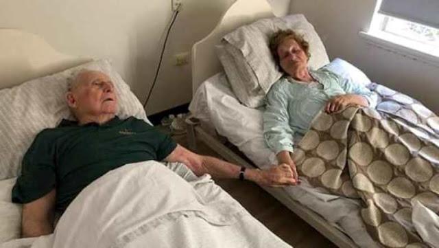 جمعهما الحب 70 عاما ولم يستطع حتى الموت تفريقهما!