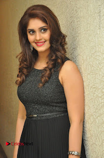 Actress Surabhi Stills in Black Long Dress at turodu Audio Launch  0019.JPG
