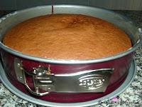 Tarta de San Marcos-bizcocho-bizcocho hecho