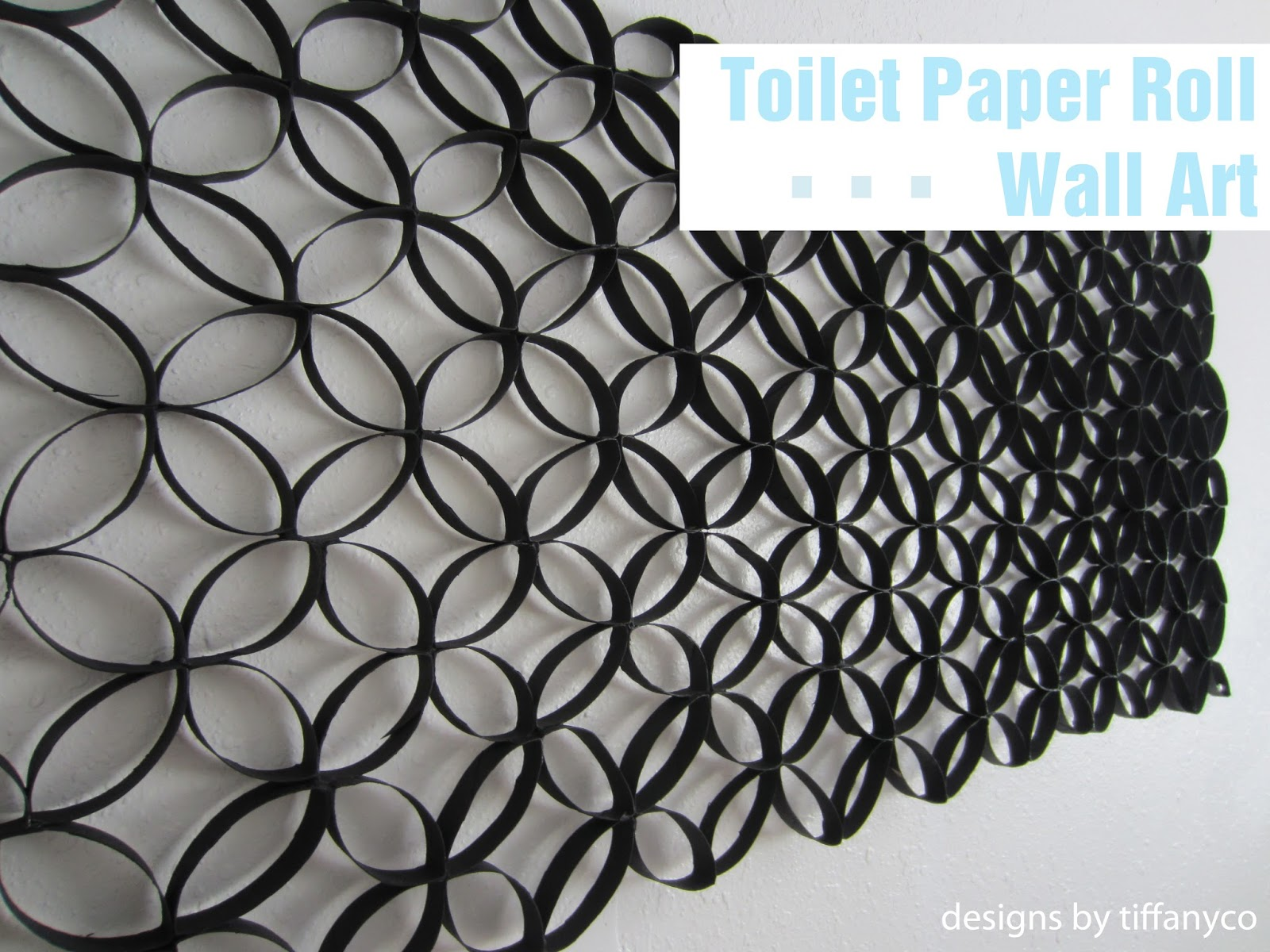 Toilet Paper Roll Wall Art - Designs by TiffanyCo