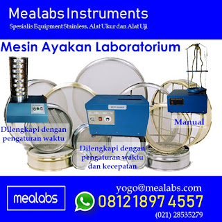 Mesin Ayakan Laboratorium