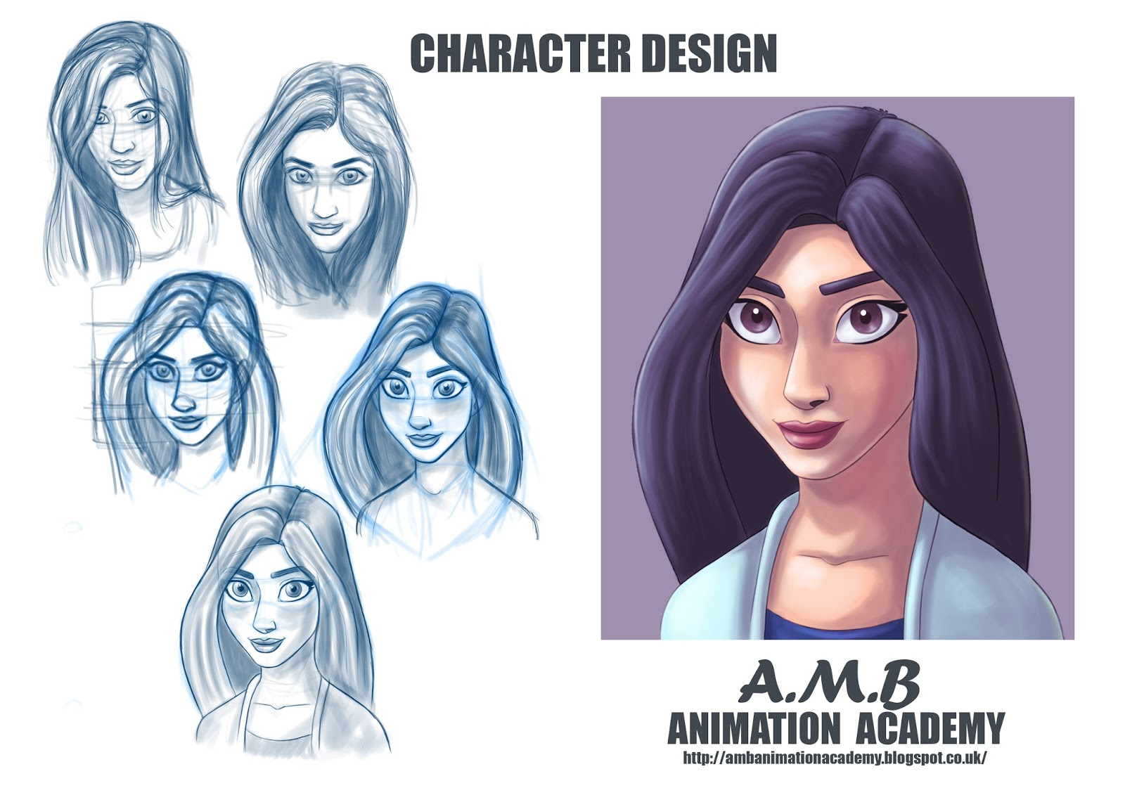Character Design Animation Tutorial : Amb animation academy character design how to draw a