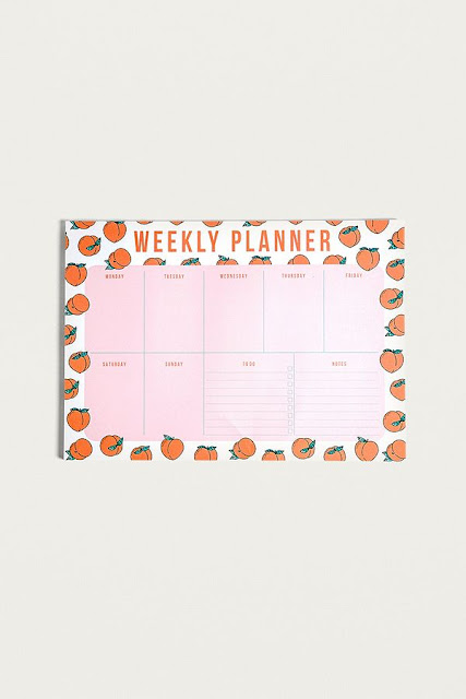 Peaches Weekly Planner