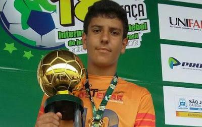 Atleta iretamense se destaca na 18ª Copa Internacional de Futebol de Campo