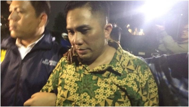 Ivan Haz saat diamankan polisi