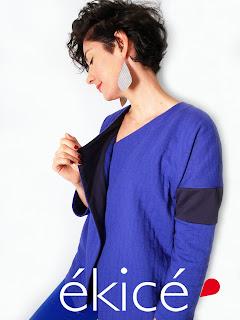 ékicé collection créatrice vêtements créateur Paris slowmade couleur artisanat fabriqué en France