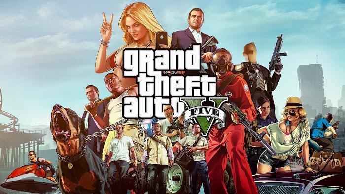 Grand Theft Auto V (USA+EUR) + DLC PS3 ISO