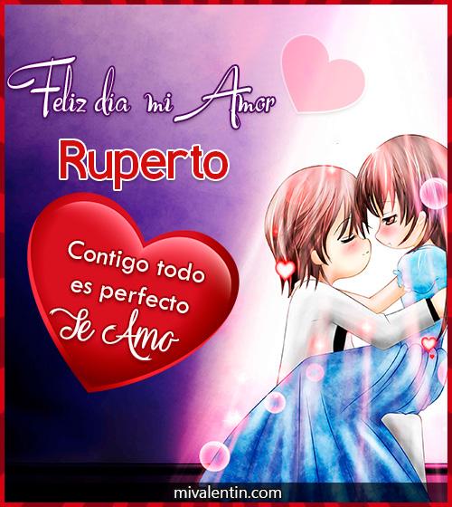 Feliz San Valentín Ruperto