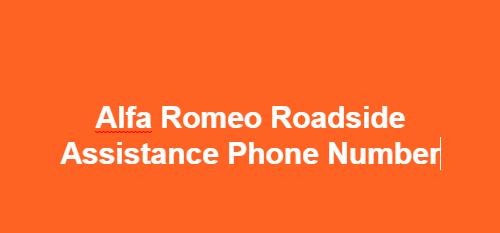 24/7 Alfa Romeo Roadside Assistance Phone Number, Contact Number, Alfa Romeo Breakdown assistance Number,Alfa Romeo Roadside Assistance  Toll Free no