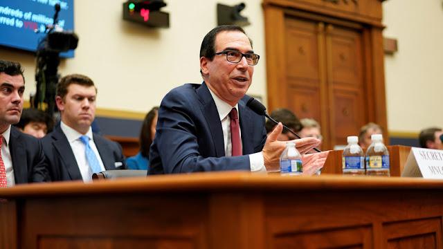 El secretario del Tesoro de EE.UU. se niega a entregar al Congreso las declaraciones confidenciales de impuestos de Trump