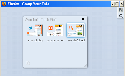 Firefox 4 Group Your Tabs