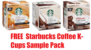 Coupons And Freebies: Free Starbucks Caffè Latte Coffee K-Cups ...