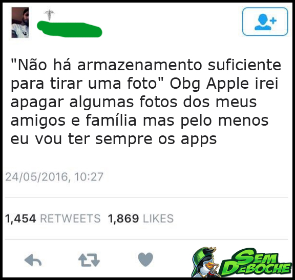 OBRIGADO APPLE