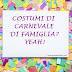 5 idee per costumi di carnevale di famiglia