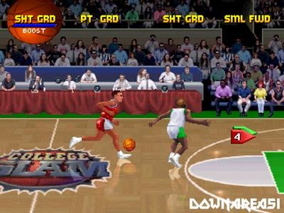 College Slam PSx Game Pitcure Screenshot