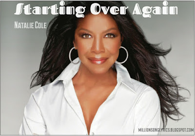 Starting Over Again – Natalie Cole