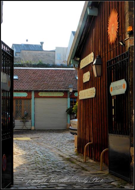 Cour du Plessis Versailles