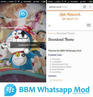 BBM MOD Whatsapp DORAEMON v2.11.0.18