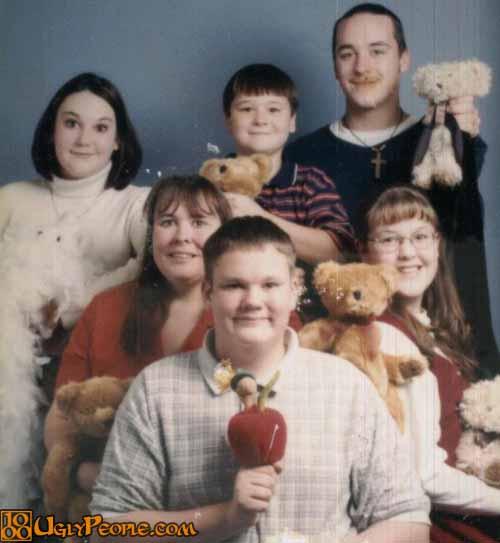 foto lucu keluarga gila
