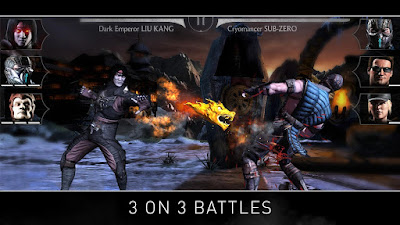 Game aksi android Mortal Kombat X APK Full Gratis