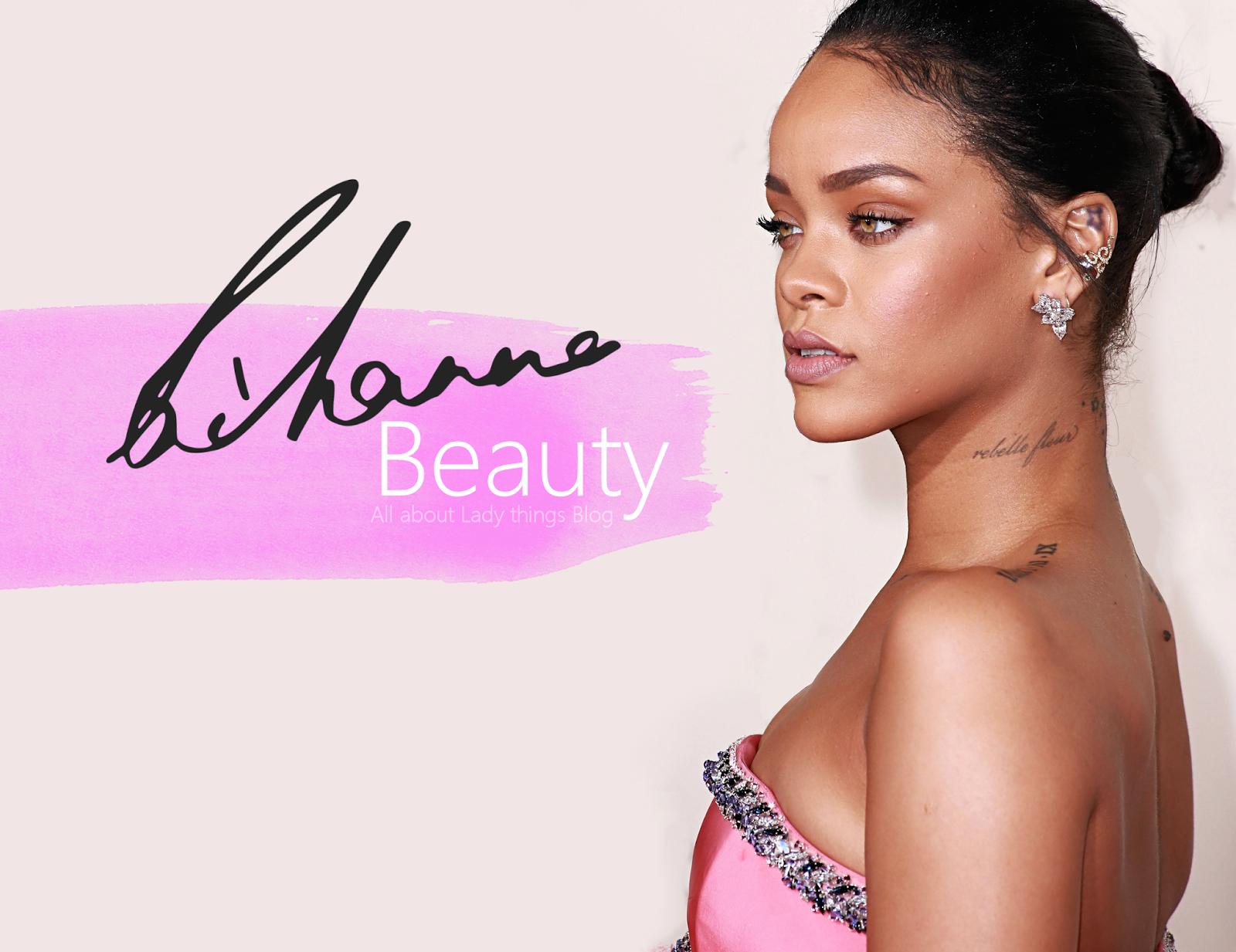 Rihanna Beauty Book