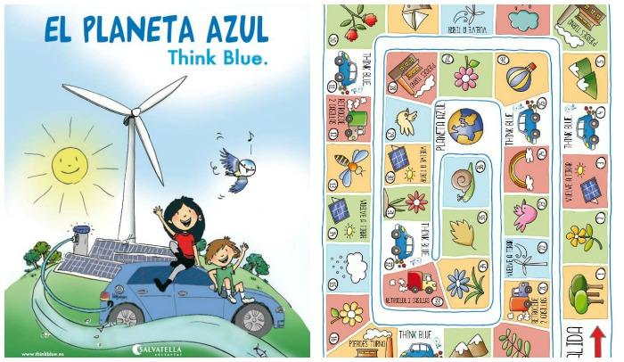 libro El planeta azul con actividades