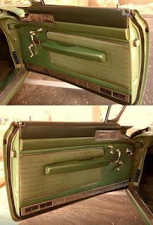 1958 Cadillac Coupe de Ville Door Interior