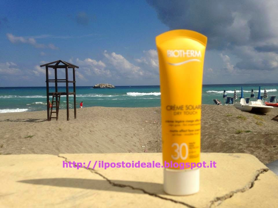 Crème Solaire Dry Touch viso SPF 30 Biotherm