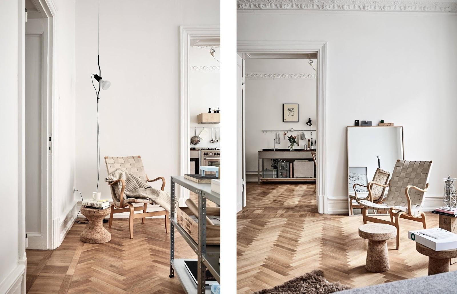 Appartamento scandinavo con arredi su misura e moderni for Arredamento scandinavo