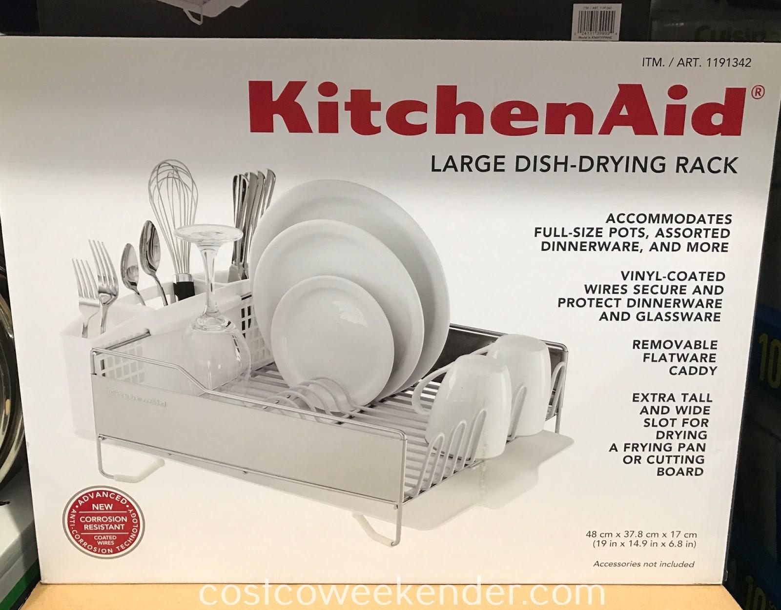kitchenaid large dish drying rack