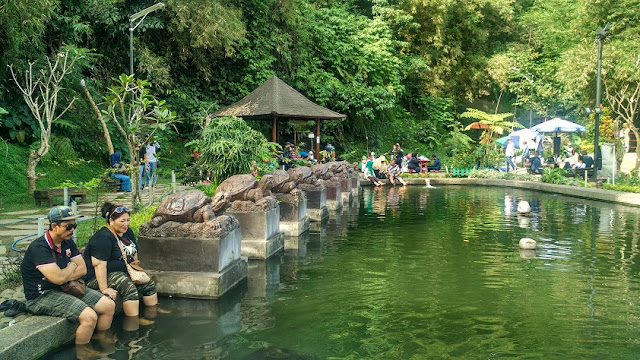 kolam ikan teras cikapundung bandung