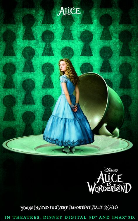 Alice in Wonderland 2010 poster