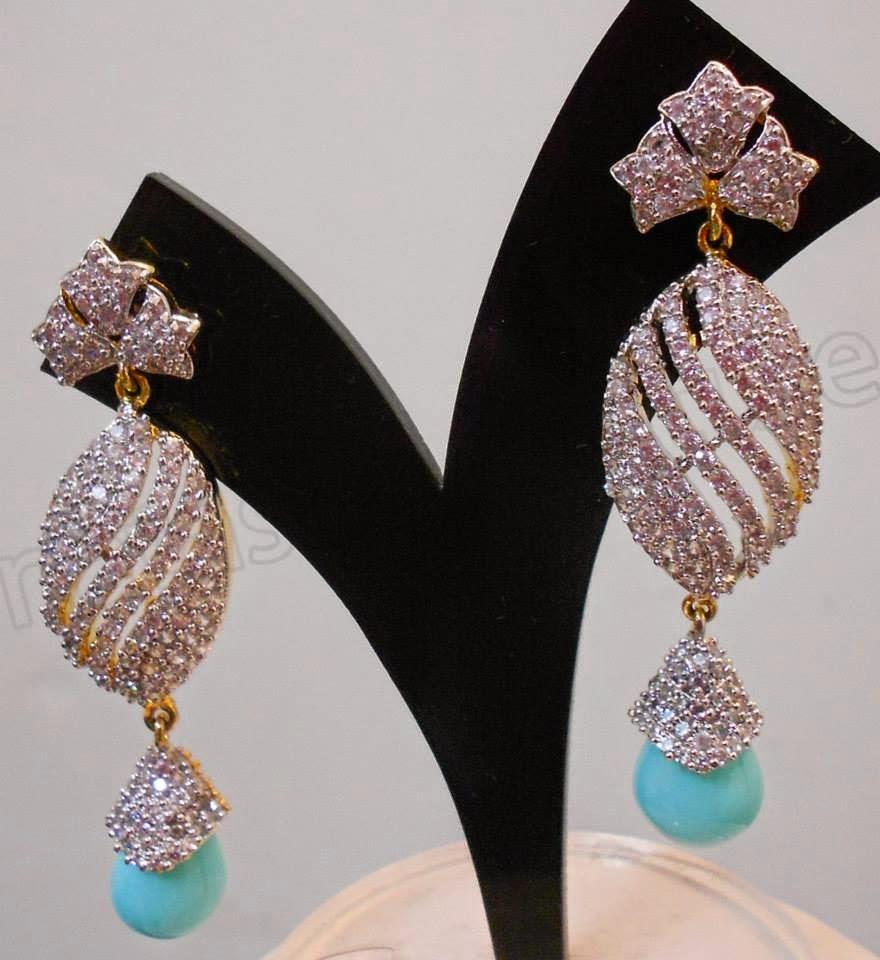 beautiful stylish earrings designs for modern girls - Sari Info