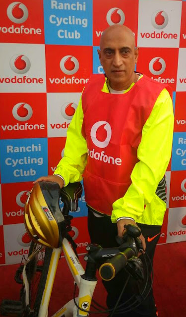 Vodafone organizes 'Tour De Deoghar' – a cycle ride from Ranchi to Deoghar to spread Road Safety awareness among residents in Jharkhand